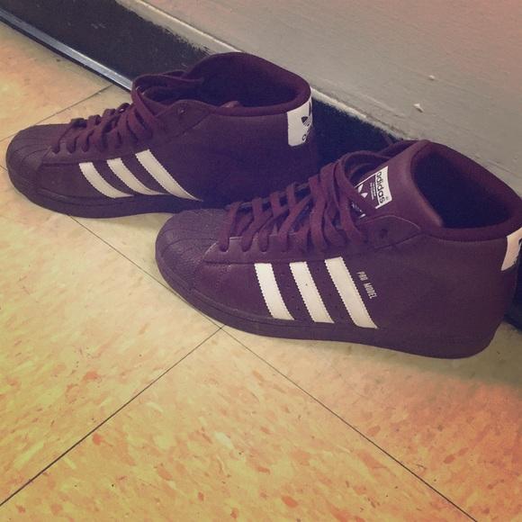 adidas Shoes - Adidas Shell toes Hi top! da36d56ea8